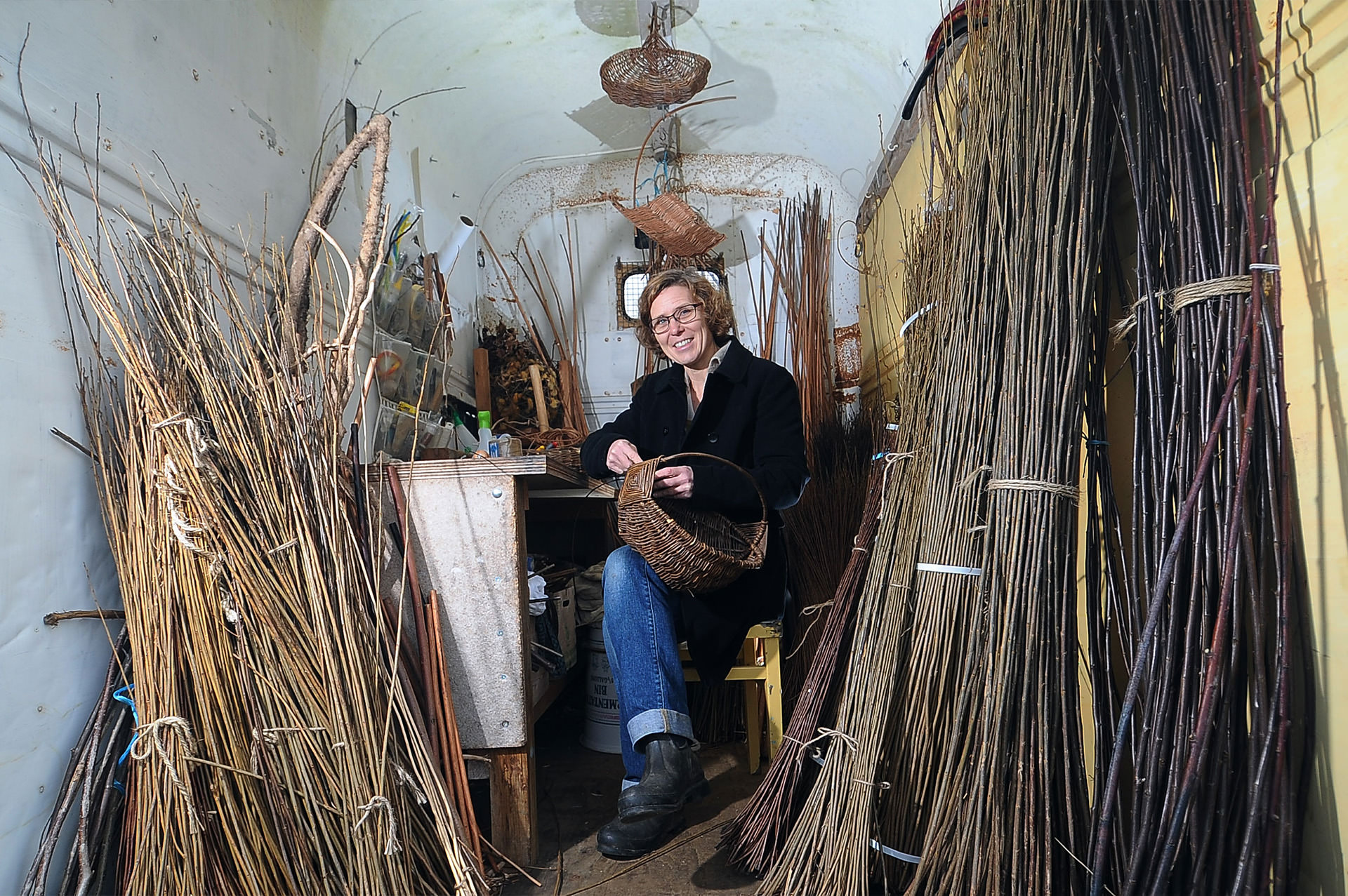 Yorkshire Willow Baskets Contact | Photo: Gerard Binks